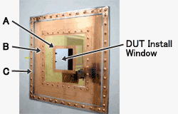 DUT-A,B,C. DUT Install Window.