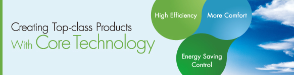 Creating Top-class Products with Core technology