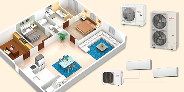 Multi Split Systems (Air Conditioner) - FUJITSU GENERAL GLOBAL