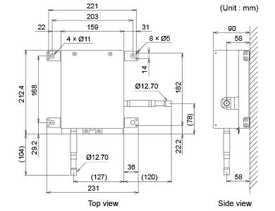 Ventilation Dx Kit Utp Vx90a Eev Unit Fujitsu General