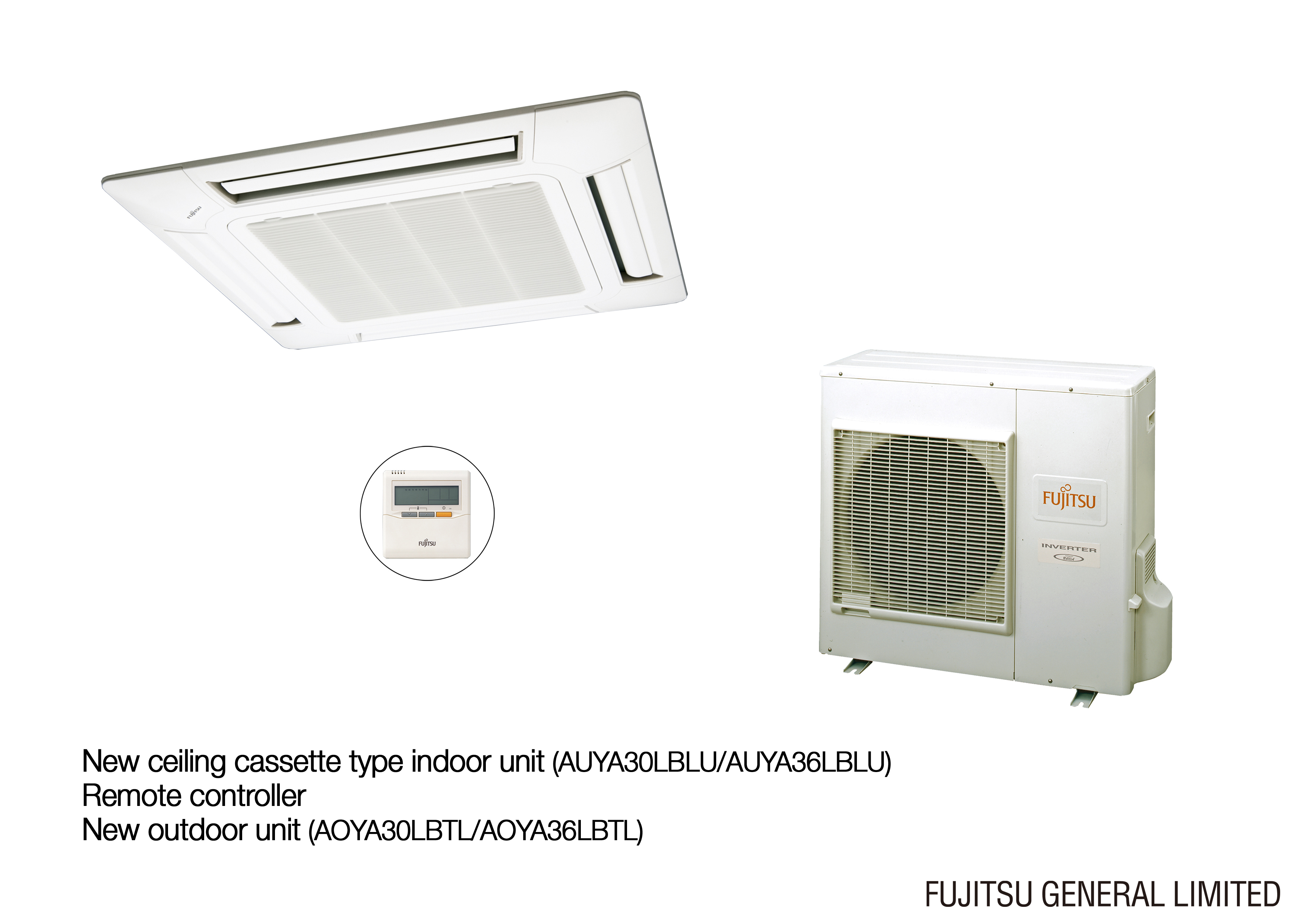 Class A large size ceiling cassette type air conditioners for Europe  #876744