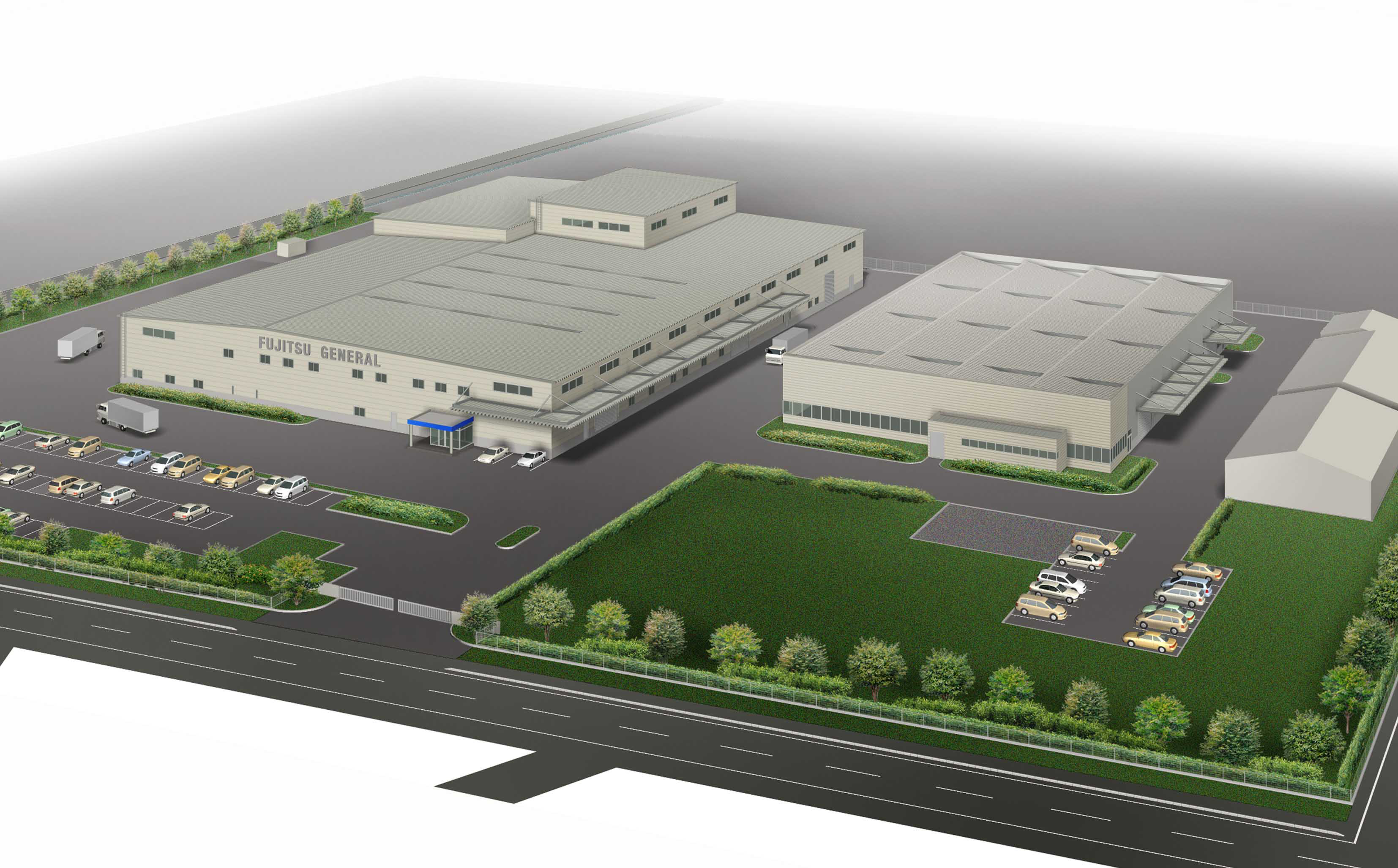 Fuji Ecocycle Constructing A New Factory Fujitsu General
