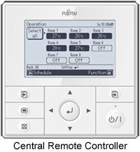 fujitsu wired remote controller manual