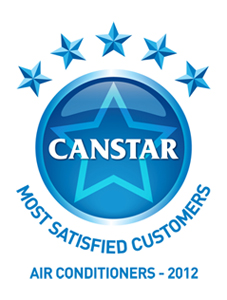 """Fujitsu General (Aust.) received """"2012 Canstar Blue Most Satisfied Customers Award"""" in air ..."""