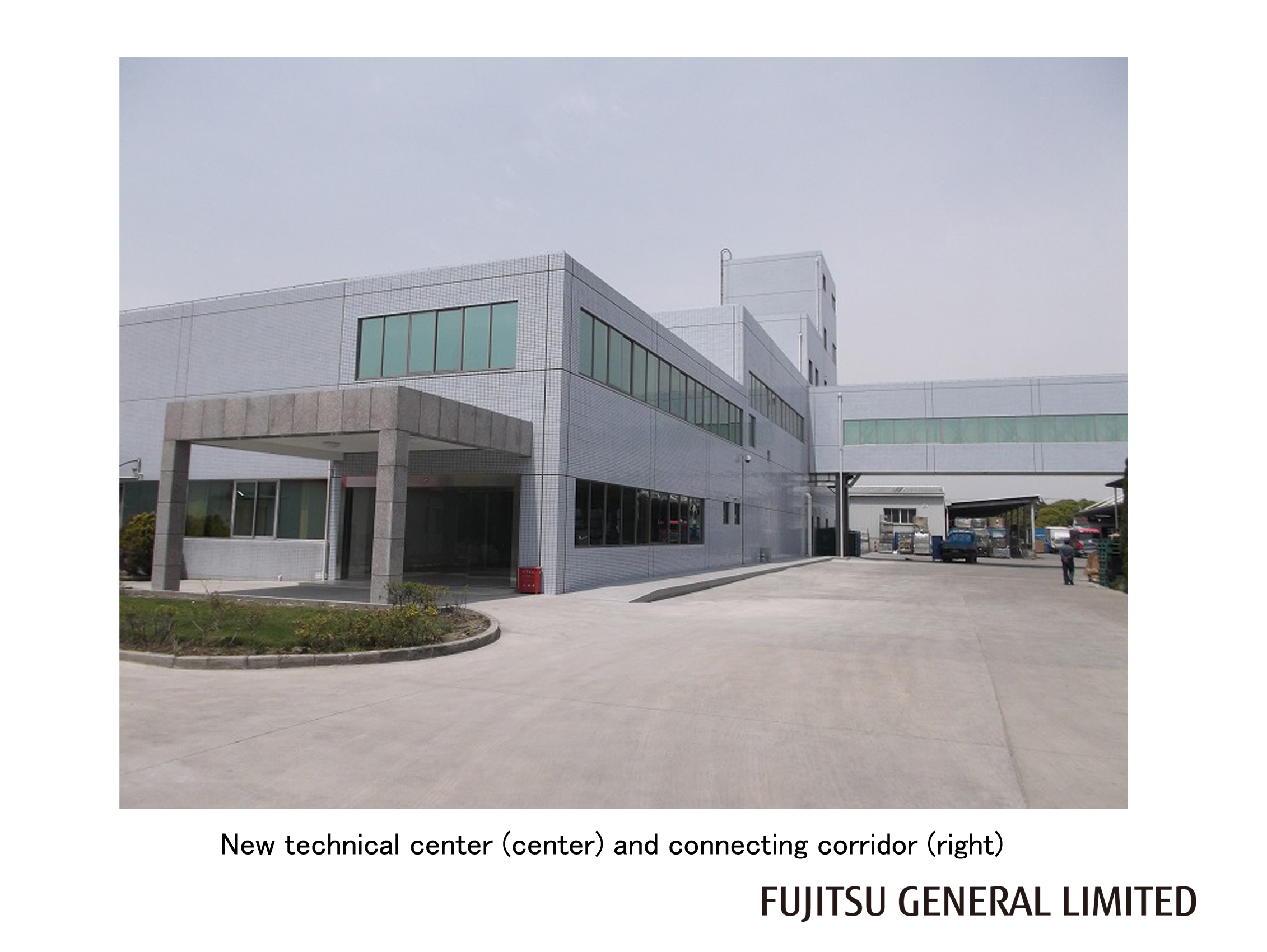 Expanding Technical Center In Fujitsu General Shanghai To Promote #615B45