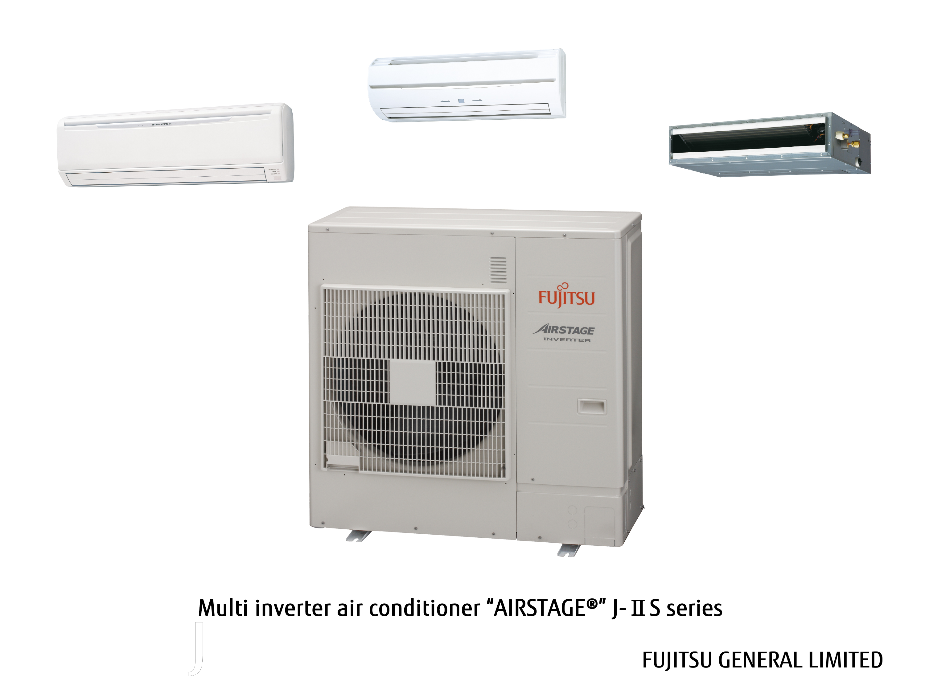 "air conditioning system for housing ""AIRSTAGE ® "" J IIS series #586A73"
