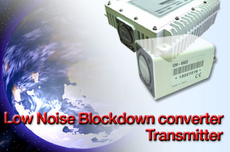 FUJITSU GENERAL's Low Noise Blockdown converter/ Transmitter