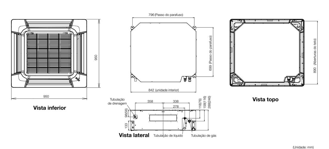 Sistema Split Aubg54lrla Fujitsu General