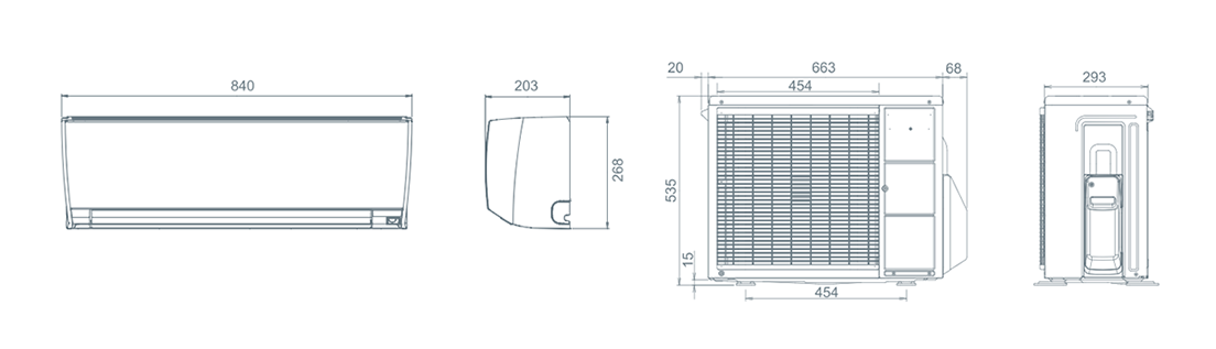 sistema split asbg12jmca fujitsu general. Black Bedroom Furniture Sets. Home Design Ideas