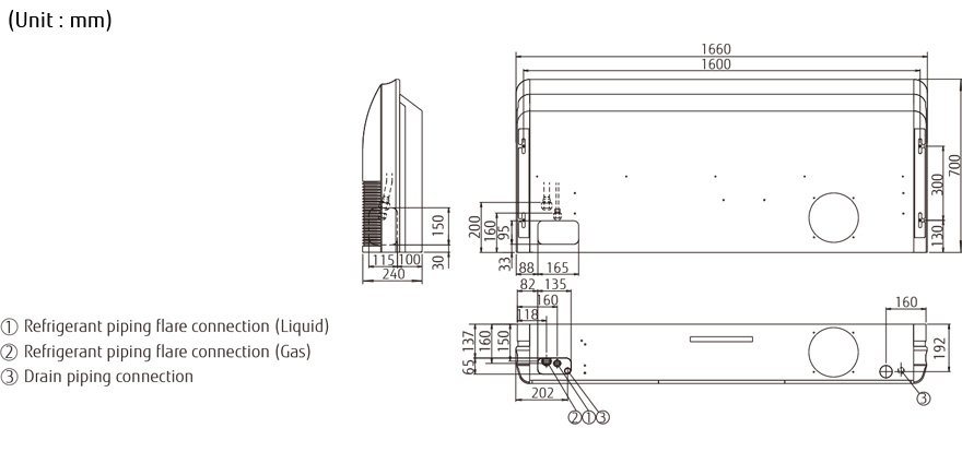 Split Systems Air Conditioner Abyg36lrte Fujitsu