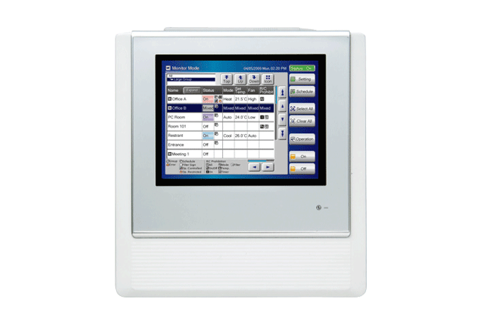 Airstage Vrf Systems Control System Amp Controller