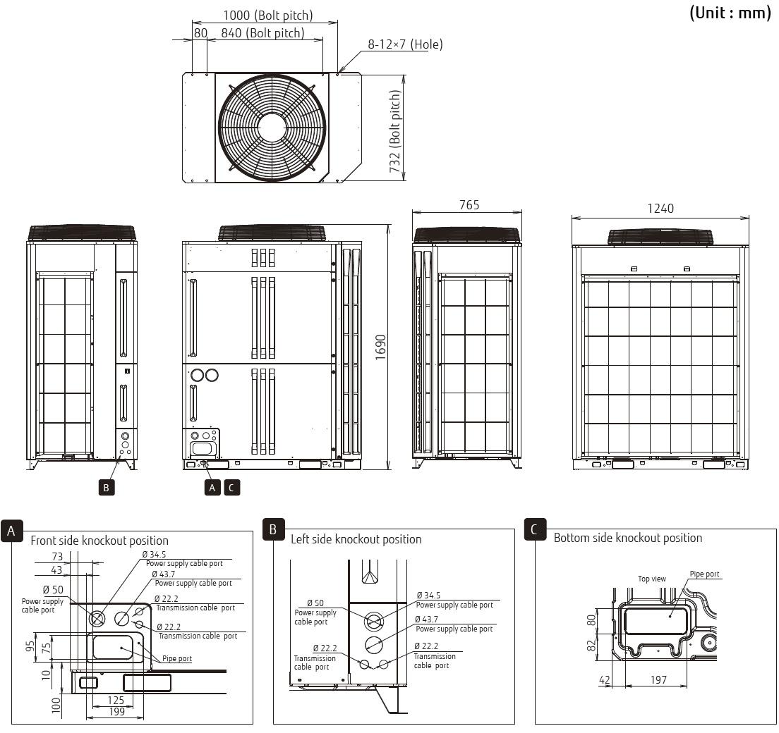 airstage vrf systems v ii series ajh144lalh fujitsu general rh fujitsu general com fujitsu airstage v-ii service manual Fujitsu VRF USA
