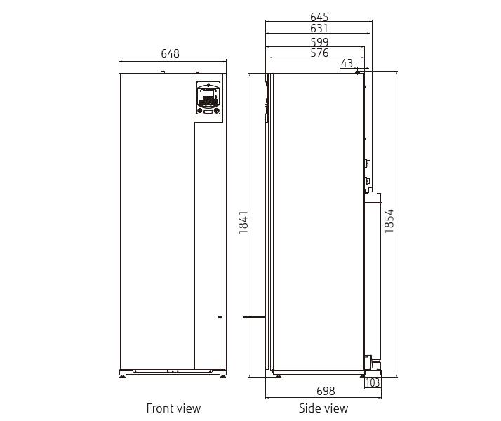 Hydraulic indoor unit