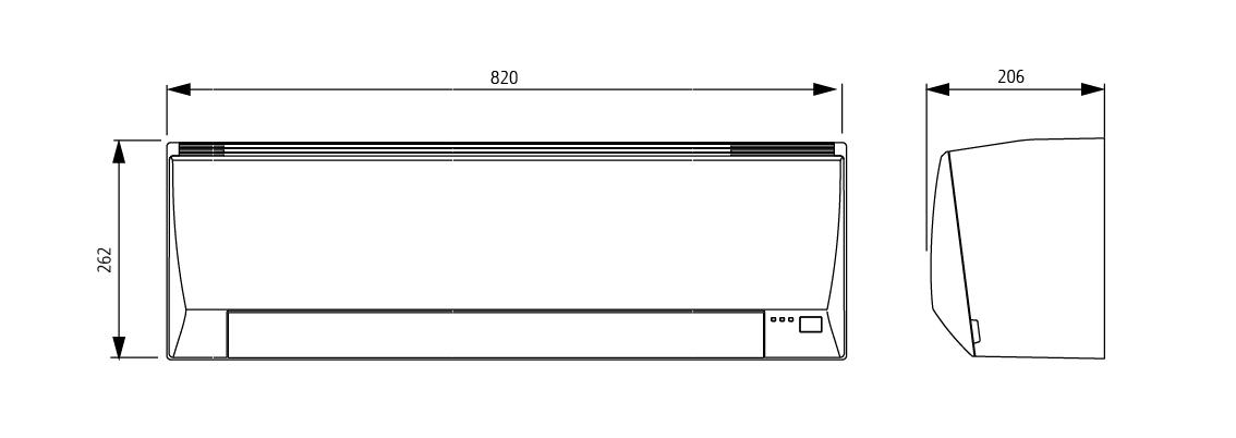 Split Systems Air Conditioner Asyg12llce Fujitsu