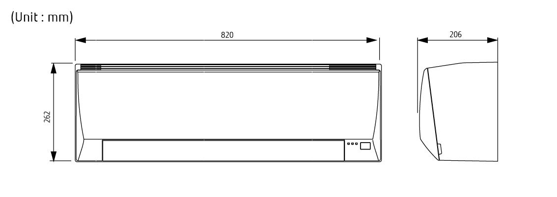 Split Systems Air Conditioner Asyg12llcc Fujitsu