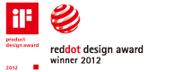 iF Product Design Award 2012, GOOD DESIGN, red dot design award winner 2012