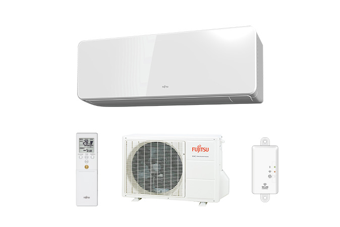 Indoor unit, Remote controller, Outdoor unit, Wireless LAN interface