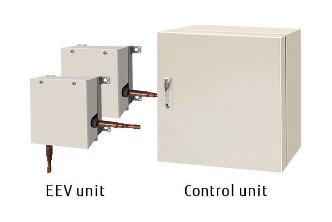UTP-VX90A × 2T [EEV unit] and UTY-VDGX [Control unit]