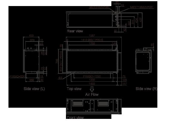 Airstage Vrf Systems Arxc72gath Fujitsu General