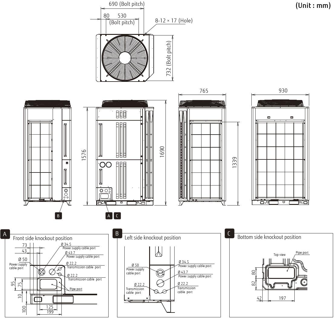 Airstage Vrf Systems V Ii Series Ajy324lalh Fujitsu