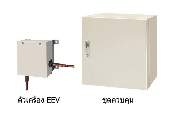 UTP-VX30-90AT [ตัวเครื่อง EEV] and UTY-VDGX [Control unit]