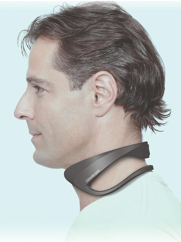 首にかけた冷却部から体を効率的に冷却するCómodo gear