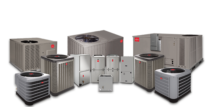 Central Air Conditioners Heat Pumps And Furnaces