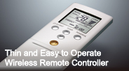 Thin and Easy to Operate Wireless Remote Controller Photo