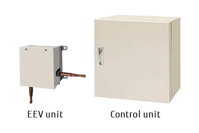 UTP-VX30-90AT [EEV unit] and UTY-VDGX [Control unit]